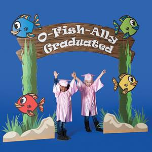 O-Fish-Ally Graduated Arch Stage Prop Kit
