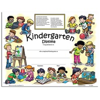 New Class Activity Diploma - Kindergarten