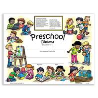 New Class Activity Diploma - Preschool