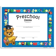 Teddy Bear Diploma -Preschool