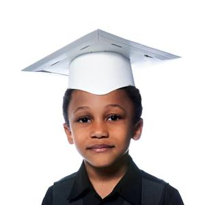 Kid's Color Your Own Graduation Cap
