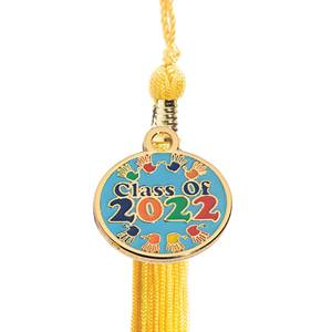 Tassel with Class of 2018/Handprints Charm
