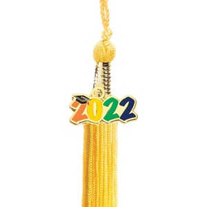 Tassel with 2018 Charm