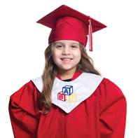 Designer Graduation Hood for Kids