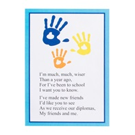 Custom Handprints Invitation