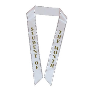 Student of the Month Sash