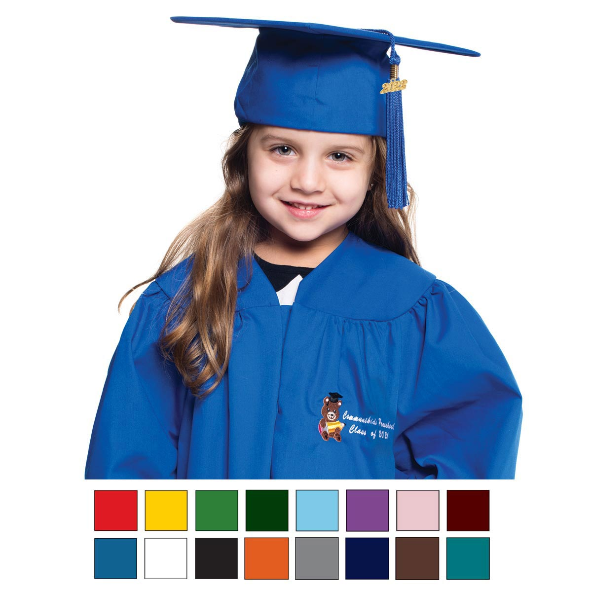 Rhyme University Graduation Caps and Gowns for Preschool and ...