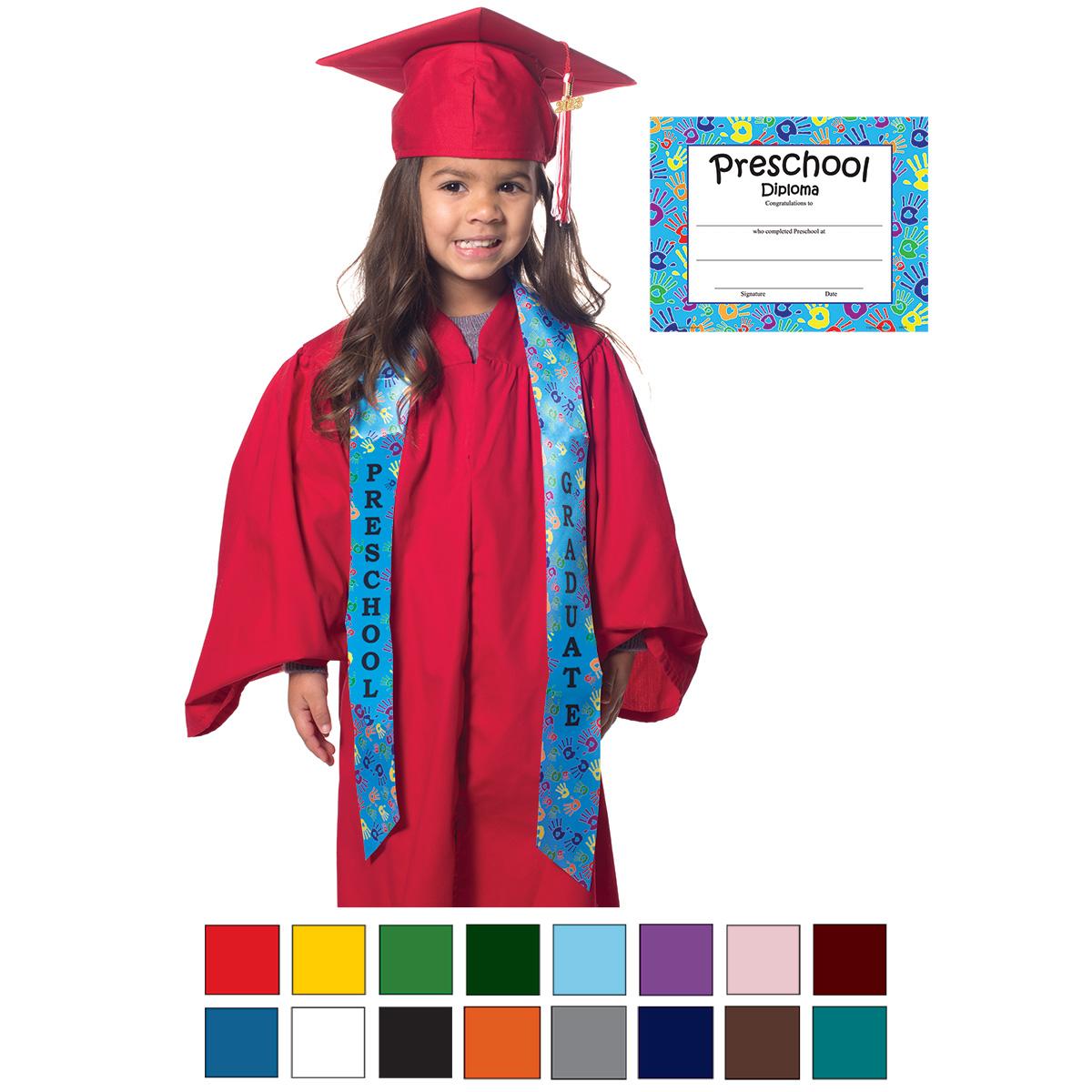 Handprint Graduation Set | Rhyme University\'s