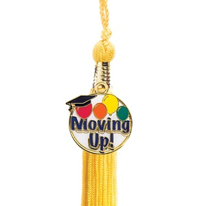 Tassel with Moving Up Charm