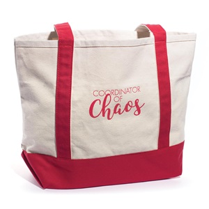 Coordinator of Chaos Tote Bag