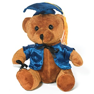 Graduation Teddy Bear - Blue