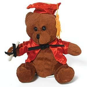 Graduation Teddy Bear - Red