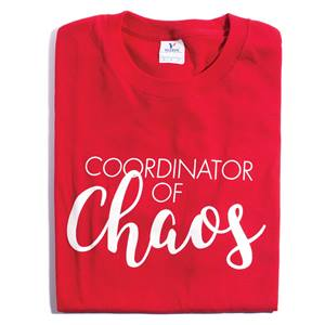 Coordinator of Chaos Adult-size T-Shirt
