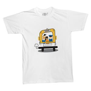 School Bus T-shirt - Adult