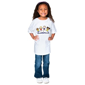 Kids with Books T-Shirt  - Youth