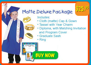 3f56e645a79 Rhyme University Graduation Caps and Gowns for Preschool and ...